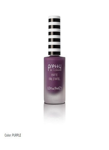 Flormar Flormar By Pretty Mat Nail Enamel No M07 Purple Mor